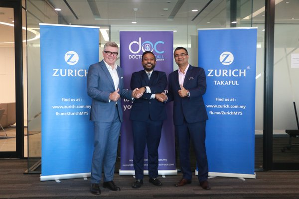 Zurich Malaysia Partners With Doctoroncall
