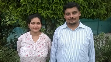 Ms Shrutika Girdhar, co-founder, & Mr Abhinav Girdhar, founder, Bodhi Health Education