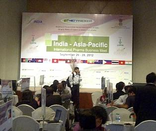 India-Asia Pacific International Pharma Business Meet is being held from September 26-28 in Hyderabad