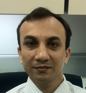 Mr Tarun Pandotra, project manager, PRA, India